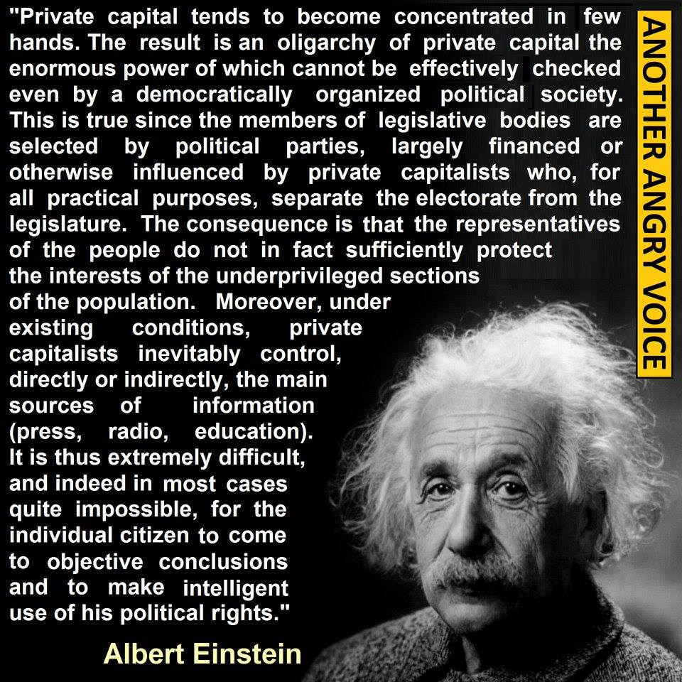 rambling thots opinion matters einstein quote