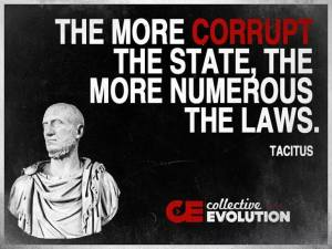 the more corrupt the states